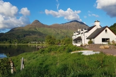 Pier House and The Pap of Glencoe