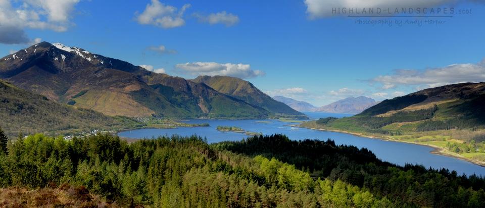 Glencoe B&B - Loch Leven Panorama