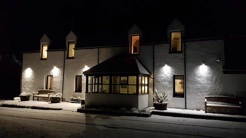 A winter's evening at Pier House Glencoe
